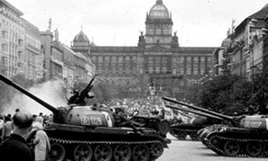 Bild Franz Goëss: Prag 1968