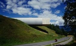(c) querkraft architekten - Museum Liaunig, Korutany/Kärnten