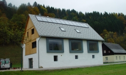 Holzbauten in Österreich, © Patricie Taftová