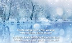 Bild Das Österreichische Kulturforum Prag wünscht Ihnen frohe Weihnachten und ein glückliches Neues Jahr!